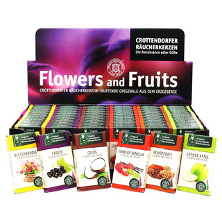 60er Set Crottendorfer-Räucherkerzen Flower & Fruits im...